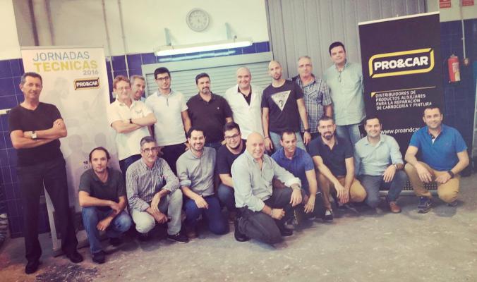 Lumax en las Jornadas Técnicas de Pro&Car en Valencia.